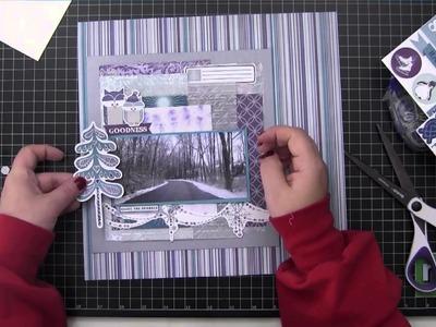Scrapbook Process Video: The Road Home
