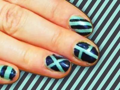 Stripe Nail Art Design | Stripe Nails Tutorial for Everyone! | Easy DIY Nail Art Designs