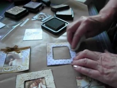 With beginners in mind - a how to decorate the very easy and quick mini album