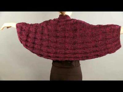 #19 Ribbed Shrug, Vogue Knitting Holiday 2008