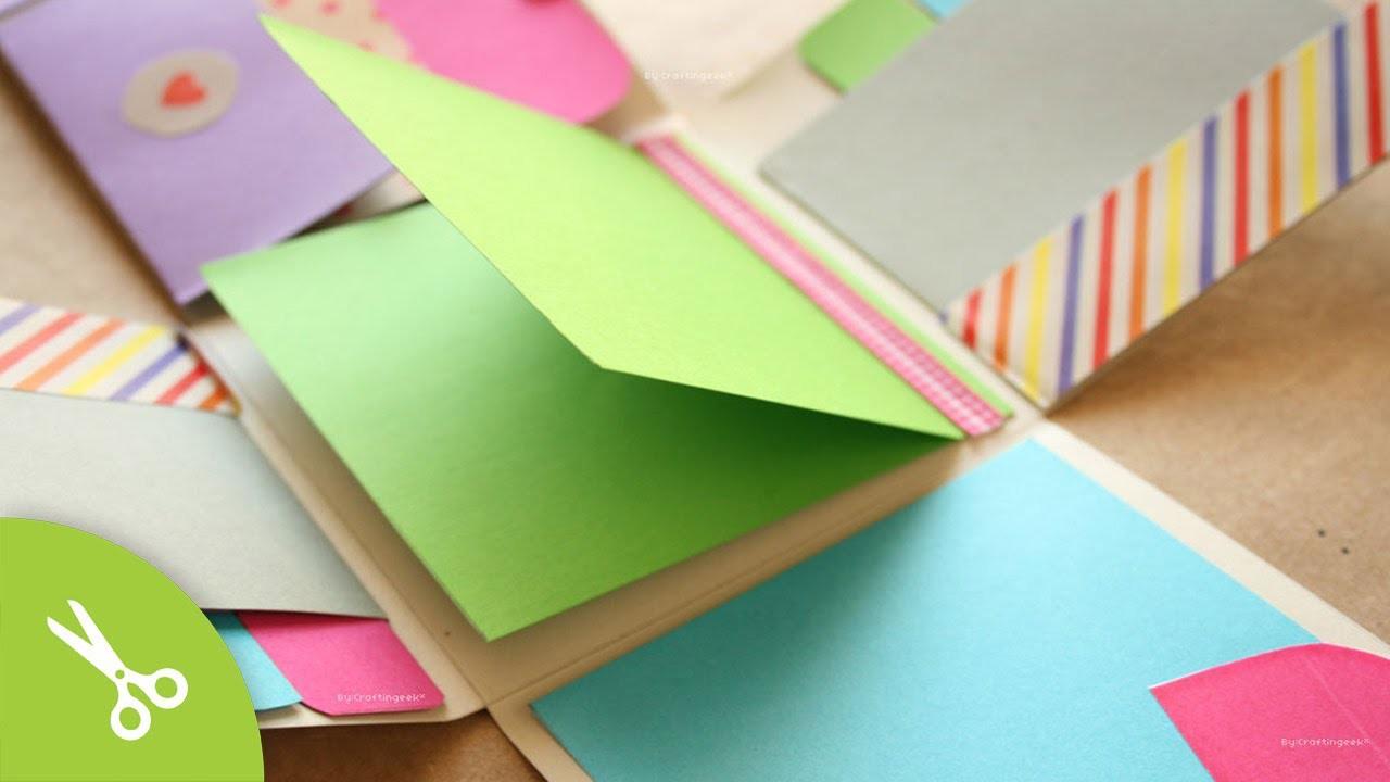 """Album Scrapbook """"Fold"""". idea regalo"""