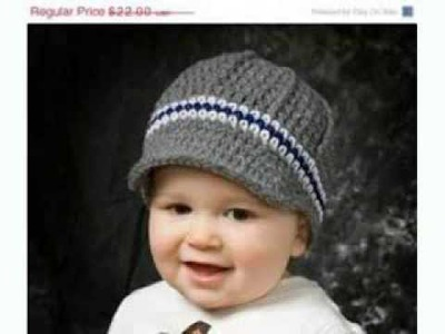 Baby Boy Crochet Hats