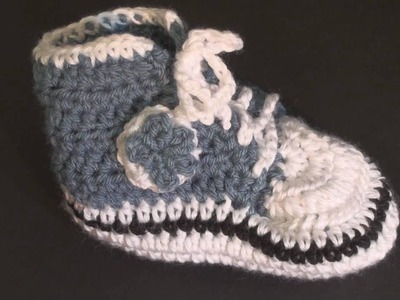 Baby High Top Bootie - Toddler.Child Size Crochet Geek