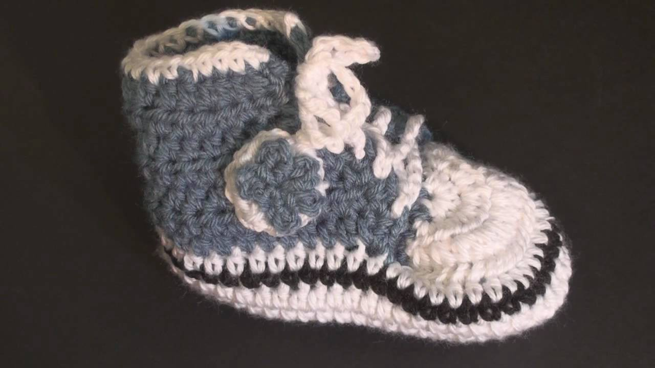 Baby High Top Bootie - Toddler.Child Size Crochet Geek
