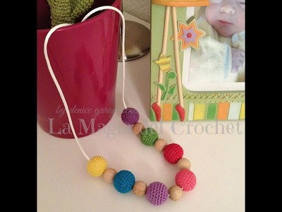 COLLAR DE LACTANCIA A CROCHET