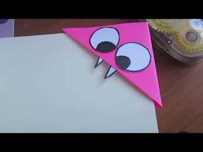 Corner Bookmark Tutorial - Monster