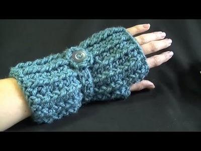 Cozy Fingerless Gloves Crochet Tutorial