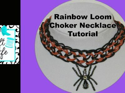 Craft Life ~ Rainbow Loom Choker Necklace Tutorial