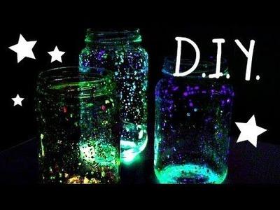 Craft Time! - DIY Glow jars