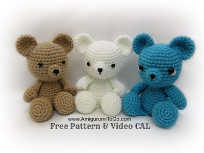 Crochet Bear Video Tutorial