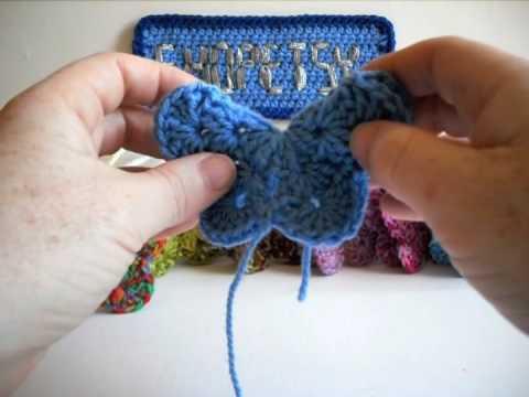 Crochet Butterfly Tutorial - Part 2