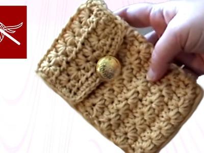 Crochet Cell Phone Pouch - Iphone Crochet Geek
