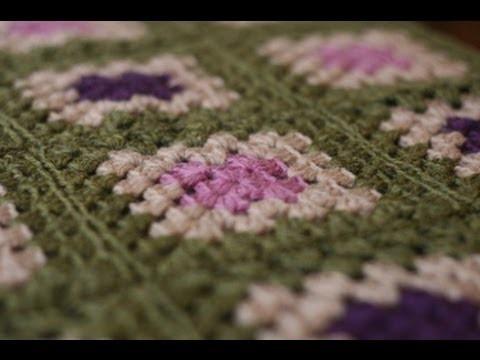 Crochet for Knitters - Granny Square Blanket