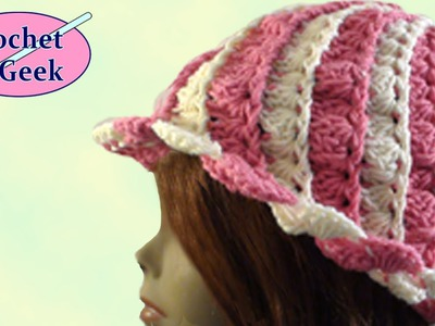 Crochet Hat Blaise - Crochet Geek