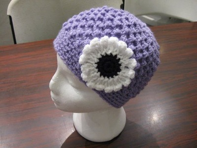 Crochet Hat - Meladora's Butterfly Stitch Beanie Tutorial