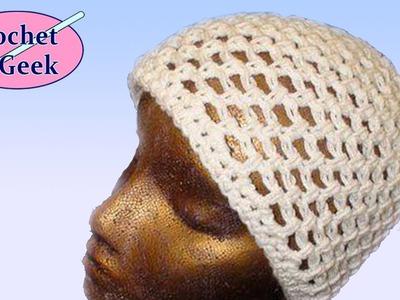 Crochet Mesh Hat - Crochet Geek