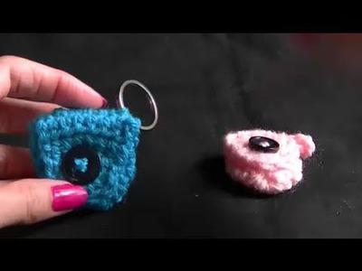 Crochet Mini Coin Pouch Tutorial