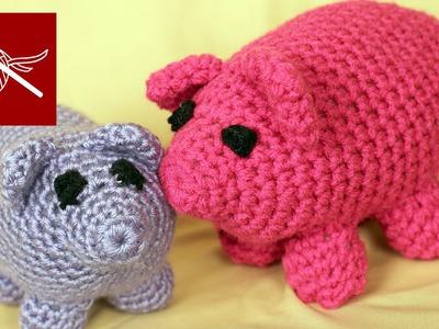 CROCHET PIG WILBUR #CrochetGeek Crochet Geek