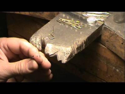 Crochet pour boucles d'oreille fil 8-10 mm non recuit