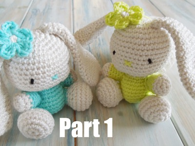 (crochet) Pt1: How To Crochet an Amigurumi Rabbit - Yarn Scrap Friday