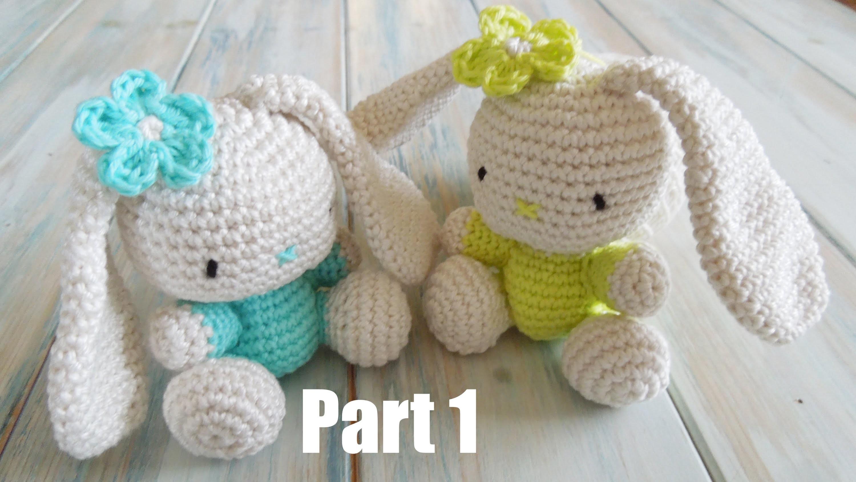 (crochet) Pt1: How To Crochet an Amigurumi Rabbit - Yarn Scrap Friday