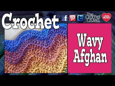 Crochet Ripple Afghan aka Wave or Ripple