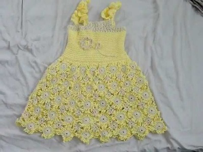 Crocheted Child's Dress