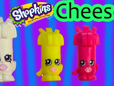 Custom Shopkins Swiss Miss Cheese DIY Inspired Painted Craft Kawaii Toy Cookieswirlc