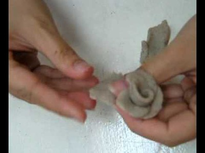 Digikids Art and Craft - How to make Flowers with clay
