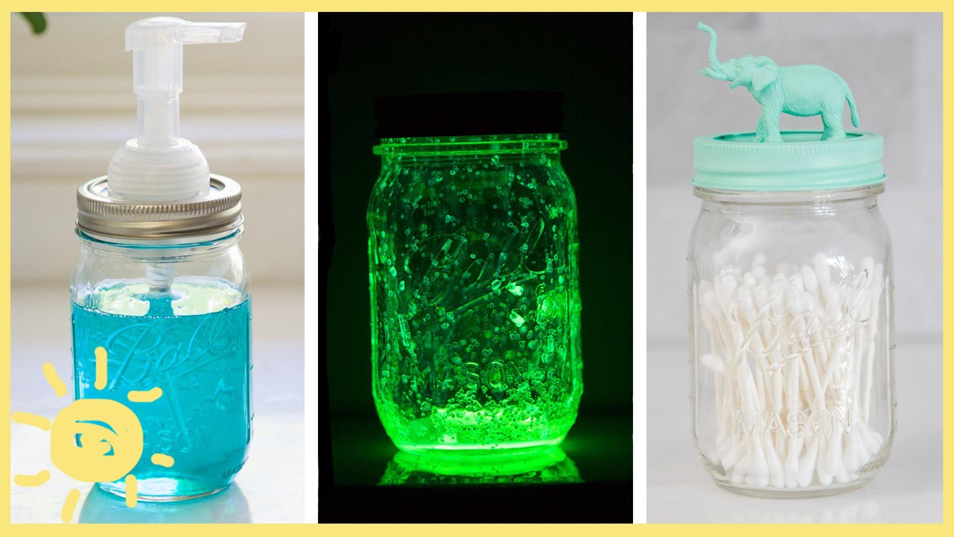 DIY | 3 Easy Mason Jar Hacks