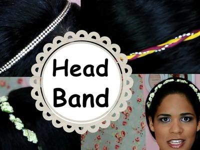 DIY: Aprenda a fazer 3 modelos de Tiaras - Headband