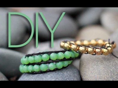 DIY Beaded Wrap Bracelets {2 Ways}