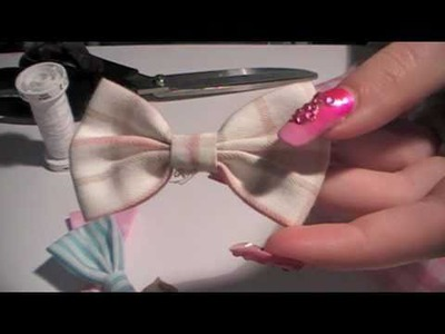 DIY Bow Tutorial