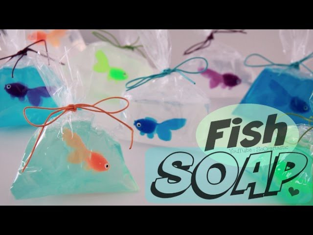 DIY Fish in a Bag Soap - Easy Soap Making How To for Beginners