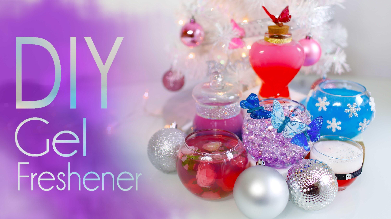 DIY Gel Freshener | Gift Idea | Home & Room Decor by ANNEORSHINE