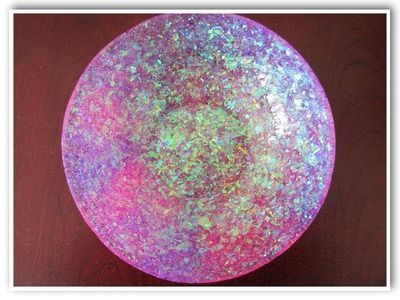DIY Glam Resin Glitter Bowl How To Craft Klatch