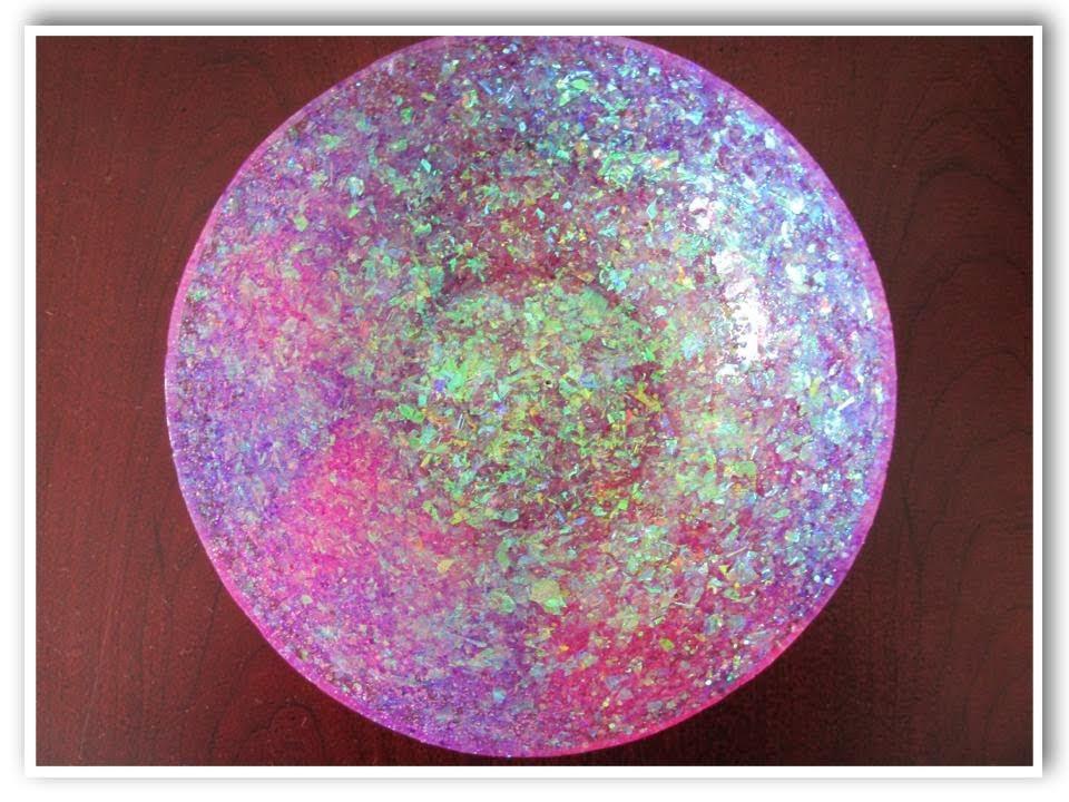 DIY Glam Resin Glitter Bowl How To Craft Klatch