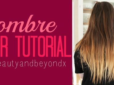 DIY Ombre Hair Tutorial!