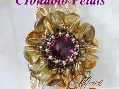 """DIY - Tutorial ciondolo con rose petals - """"Petals"""""""