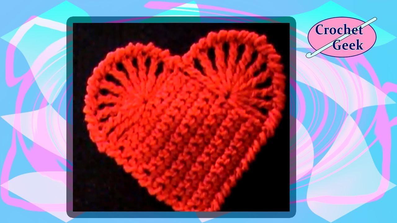 Easy Crochet Heart Crochet Geek