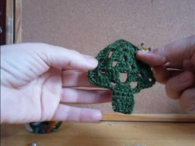 Guirnaldas adornos de navidad crochet