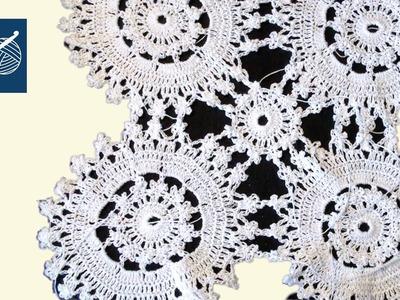 Hand Crochet Doily Tranquility - Left Hand Crochet Geek