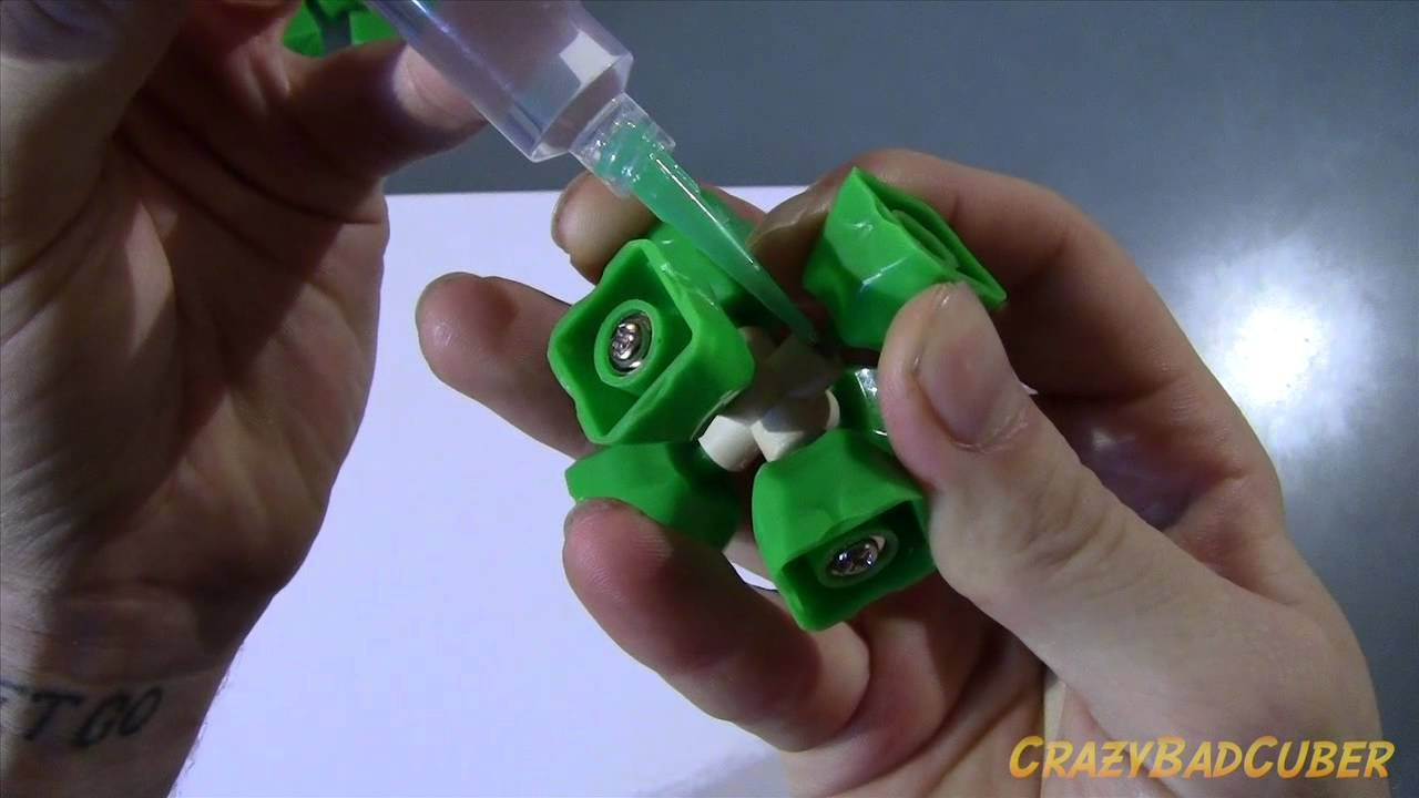 How To Assemble And Lubricate A DIY Dayan Zhanchi