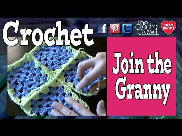 How To Attach Granny Squares - Method 1 Single Crochet