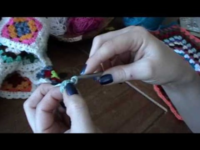 How to crochet a granny square, part 1 (of 3)