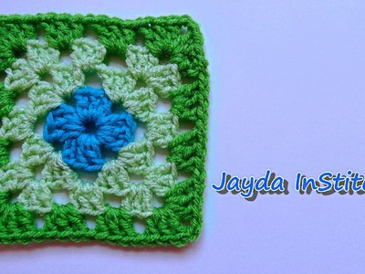 How To Crochet a Granny Square - Beginners Tutorial & Basic Pattern