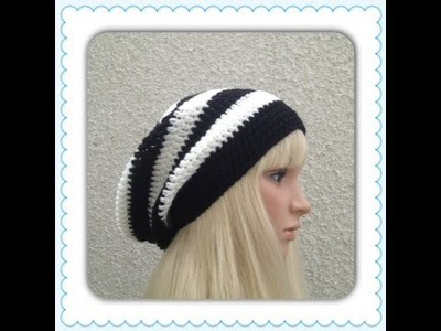 How to Crochet a Slouchy Hat Pattern #10 │by ThePatterfamily