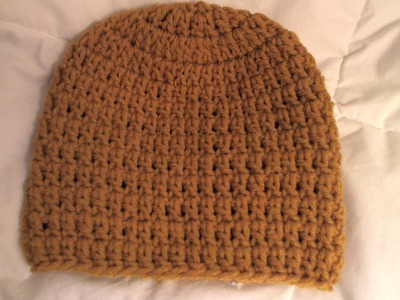 How to #crochet basic Beanie Tutorial. all sizes, baby to adult