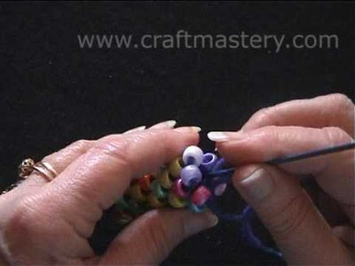 How To Crochet Bead Rope Necklace