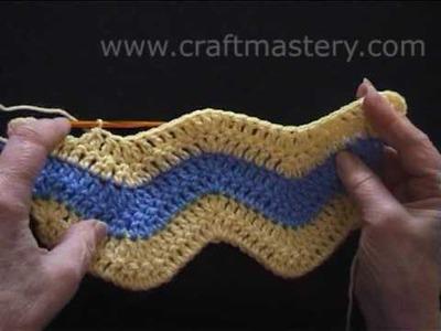 How to Crochet - Crochet Chevron Stitch Motive
